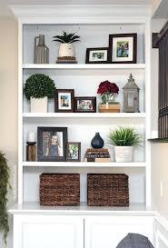 bookshelves in living room ideas for decorating bookshelves christmas living room bookcase