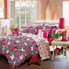 Bedding Set Teen Bedding For by 4 Piece Teen Bedding Set Fashion Pet Duvet Cover Bed Sheet