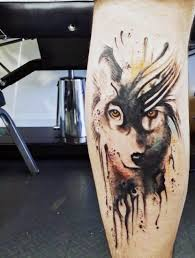 picture of blue wolf