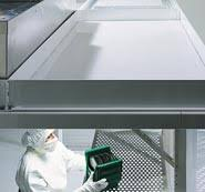 Cleanroom Ceiling Tiles by Modular Cleanroom Ceiling Panels For Ceiling Grids