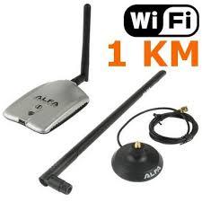 antenne wifi pour pc bureau antenne wifi sans fil usb portée de 1 km alfa prix pas cher