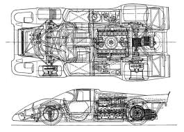 porsche 904 chassis porsche 917k chassis drawing unattributed cars trucks mud