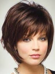 hairstyle for heavier face on woman women hair color blonde low lights fat face short hairstyle and fat