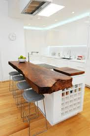 bar de cuisine 68 idées pour un comptoir de cuisine en bois design