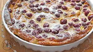 clafoutis aux cerises cherry clafoutis recipe delicious food