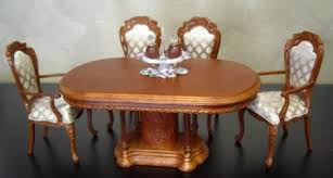 Dollhouse Dining Room Furniture Doll House Miniatures 1 12 Dolls House