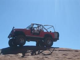 jeep scrambler blue 1981 cj 8s