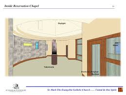 Catholic Church Floor Plans St Mark The Evangelist Catholic Church Architectural Presentation