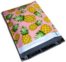 pineapple amazon com poly mailers pineapple designer boutique mailers