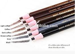 light grey eyebrow pencil high quality brown coffee gray dark coffee black light coffee