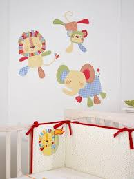 Animal Wall Decals For Nursery Jungle Zoo Animal Wall Decals Nursery Decor Rooms For
