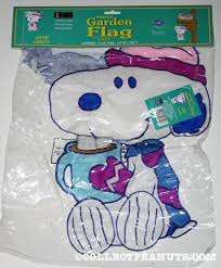 peanuts winter flags collectpeanuts