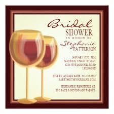 wine themed bridal shower wine themed bridal shower invitations announcements zazzle