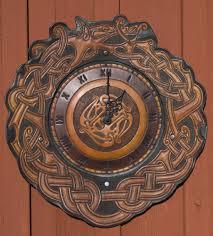 dragon viking clock by wodenswolf on deviantart