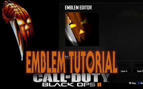 black ops ii emblem tutorial halloween original movie poster