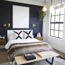 creative ways to make your small bedroom look bigger dark colors