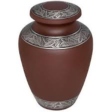 urn for human ashes brown cremation urns large new funeral urn for human ashes