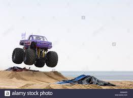 monster truck shows uk bournemouth uk 4 june 2016 slingshot monster truck jumping in
