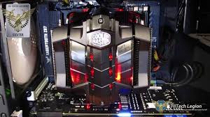 vapor chamber gpu cpu heat sink set cooler master v8 gts overview installation and benchmarks youtube