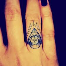 of shining pyramid with all seeing eye inside tf