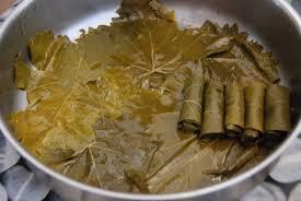 feuille de cuisine faire ses feuilles de vigne farcies cuisine plurielle