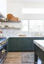Green Kitchen Sink by Hunter Green Kitchen Transitional Kitchen