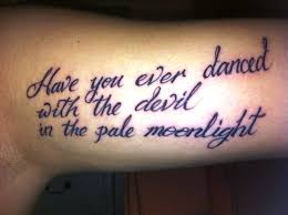 quote on inner bicep