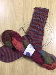 knitting pattern for socks using circular needles toe up socks using 2 circular needles lost sheep yarn shop