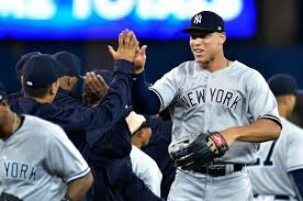 Aaron Judge Joins An Exclusive Club Of Yankees All Stars Pinstripe - aaron judge made his mlb debut in center field