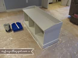 Front Entrance Bench by Chad And Elana Frey Diy Entryway Bench