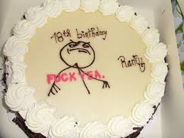 Meme Birthday Cake - internet meme and rage comics cakes and cupcakes cakes and