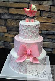girl baby shower cakes it s a girl pink baby shower cake a cake