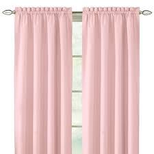 Light Pink Blackout Curtains Pink Panel Curtains 100 Images Mini Dot Blackout Panel Pottery