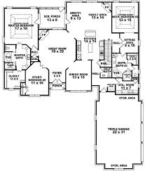 4 bedroom floor plans 2 best 25 5 bedroom house plans ideas on 4 bedroom