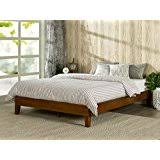 Wood Furniture Bedroom by Amazon Com Wood Beds Frames U0026 Bases Bedroom Furniture Home