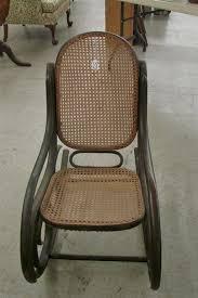 Cane Rocking Chair Wicker Rocking Chair Outdoor Wicker Rocking Chair W Cushion