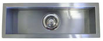 Narrow Sinks Kitchen 23 Inch Stainless Steel Undermount Single Bowl Kitchen Bar