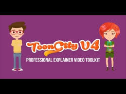 explainer video toolkit toon city 4 after efects project files