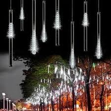 outdoor string lights rain snow fall led lights outdoor christmas christmas lights and snow