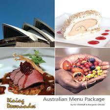 ebook cuisine australian menu package ebook