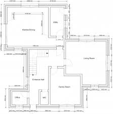 Sketchup Floor Plans Remarkable How To Draw A 2d Floor Plan To Scale In Sketchup From