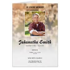 Funeral Pamphlet Ideas Funeral Memorial Order Gifts Funeral Memorial Order Gift Ideas