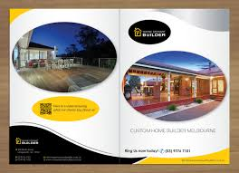 Builder Designs by 67 Elegant Serious Building Brochure Designs For A Building