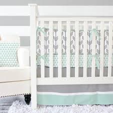 Pink Gray Crib Bedding Aqua And Gray Crib Bedding Coral Chevron Pink Grey Nursery