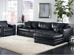 leather sectional sleeper sofa with chaise black bed