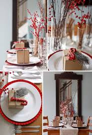 red and silver christmas table settings 15 gorgeous holiday table settings brit co