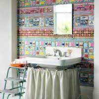 funky bathroom wallpaper ideas october 1995 brightpulse us