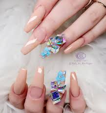 1 sheet adhesive 3d nail art sticker decal colorful small