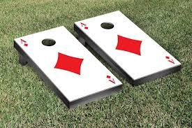ace of diamonds poker regulation bean bag toss game
