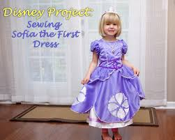 sofia the dress disney or shine disney project sewing sofia the dress